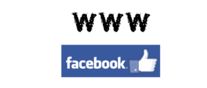 web versus facebook